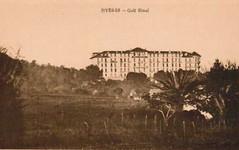 Carte postale du Golf Hôtel d'Hyères