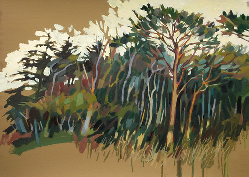 The wild wood, Oil on board, 83x59cm
