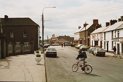 Market Square, Bagenalstown, Co. Carlow, 1991 photo by National Library of Ireland on The Commons