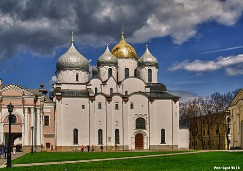 Saint Sophia Cathedral in Novgorod. Святая София.Великий Новгород. photo by Peer.Gynt