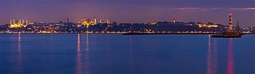 Istanbul skyline from Kadikoy