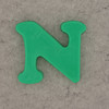 Magnetic Letter N