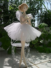 bailarina com moldes como prometi meninas. photo by gata arteira by cris