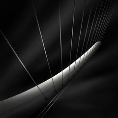 like a harp's strings IV  - radiating photo by Julia-Anna Gospodarou