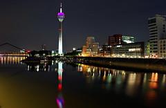 Duesseldorf, Mediaharbour at Night photo by Andy von der Wurm