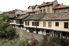 Old houses in Troyan photo by YordanDim