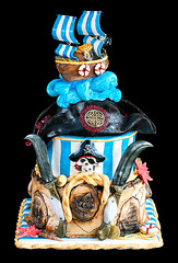 Pirates cake photo by Leapula