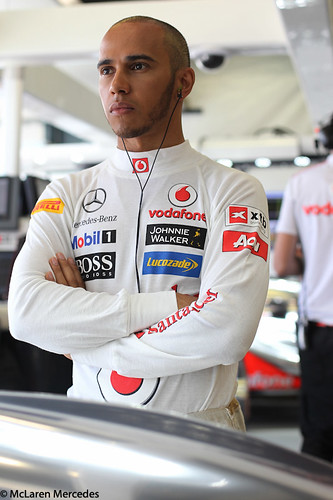 Lewis Hamilton at Australian GP
