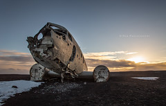 Plane Wreckage, Iceland photo by hak87