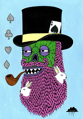 Malcolm The Magician photo by Mulga The Artist