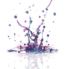Colorful Party Splash photo by Morphicx