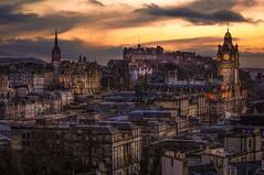Edinburgh twilight photo by karinavera