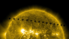 SDO's Ultra-high Definition View of 2012 Venus Transit -- Path Sequence photo by NASA Goddard Photo and Video