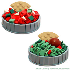 LEGO Salsa and Guacamole photo by bruceywan