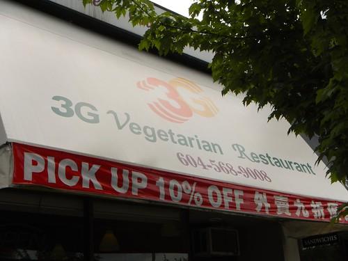 3G Vegetarian