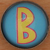 Magnetic Letter B