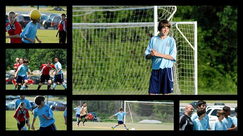 Conner - Soccer - Spring - 2012 - Collage