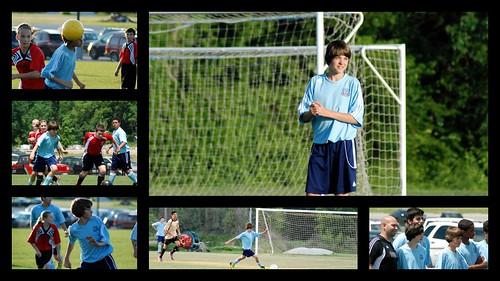 Conner - Soccer - Spring - 2012 - Collage