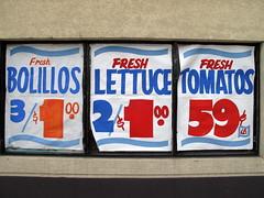 Fresh Bolillos, Fresh Lettuce, Fresh Tomatos photo by duncan