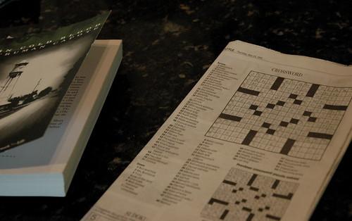 crossword completion
