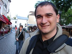 Nicolas at Place de Tertre