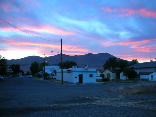 Sunset Over Winnemucca