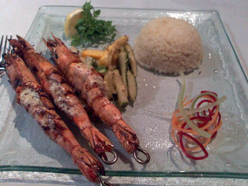 Grilled King Prawns