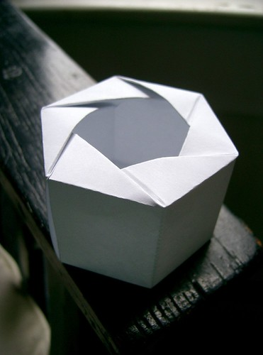 hexagonal origami box instructions