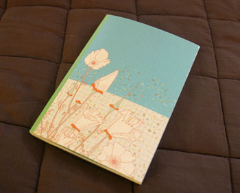 Jill Bliss notebook from Cirilia!