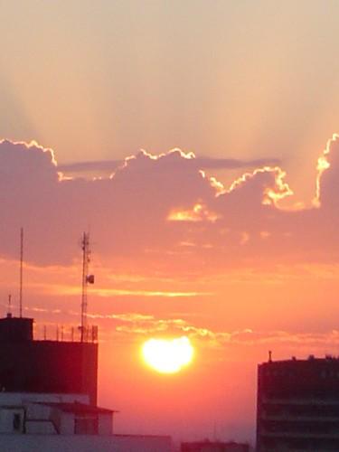 Sunset in Porto Alegre IV