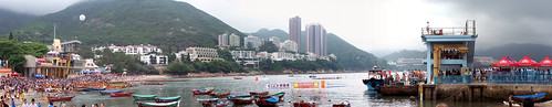 Dragon boat panorama