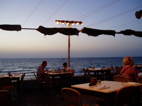 Dinner by the Mediterranean Sea
