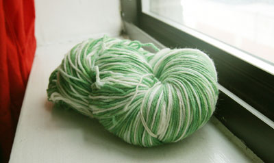 Yarn from my Dyeorama pal