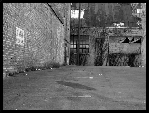 Alley Parking Lot
