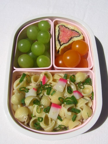 Child's pink & green lunch