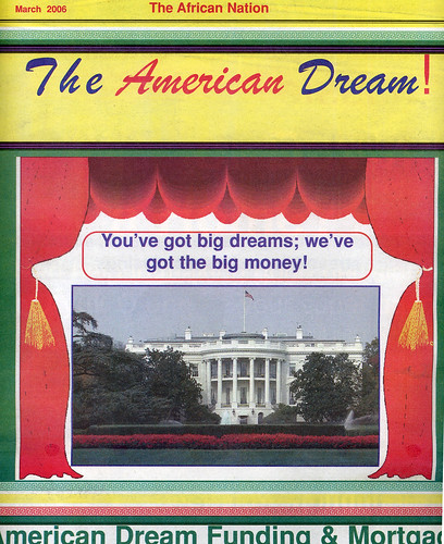 The American Dream!