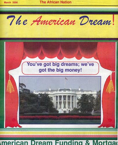 The American Dream!