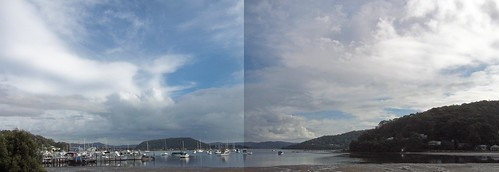 Hardys Bay panorama