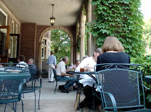University Club terrace