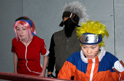 Team 7 watches Sasuke fight