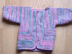 Finished Baby Surprise Jacket