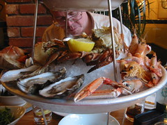The Seafood platter - with crab