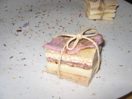 mille feuille de soap