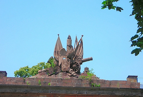 Fort Jay Statue (Unknown Origin & History)