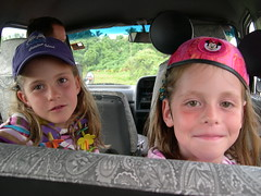 Freya and Stephie arrive in Suva