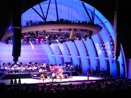 belle + sebastian at the hollywood bowl 5