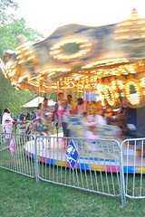 Taste of Chicago midway carousel_4