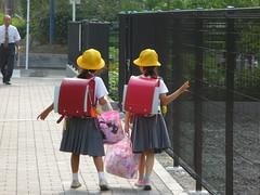 Ecolières Japonaises