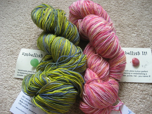 Dye-O-Rama angel yarn for me!
