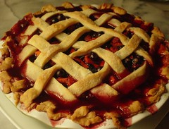 Blueberry Strawberry Pie